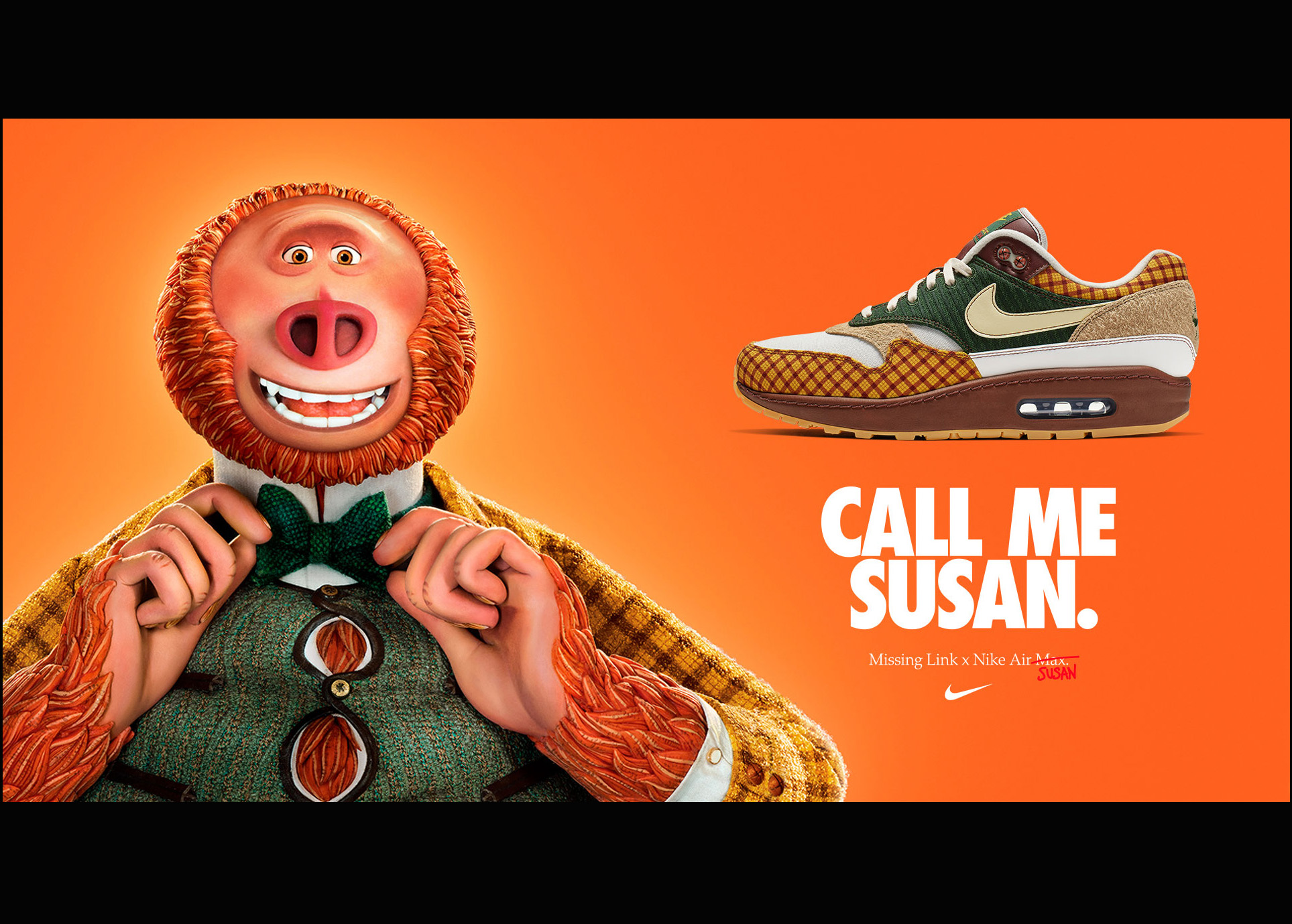 你好!Missing Link x Nike Air Max Susan