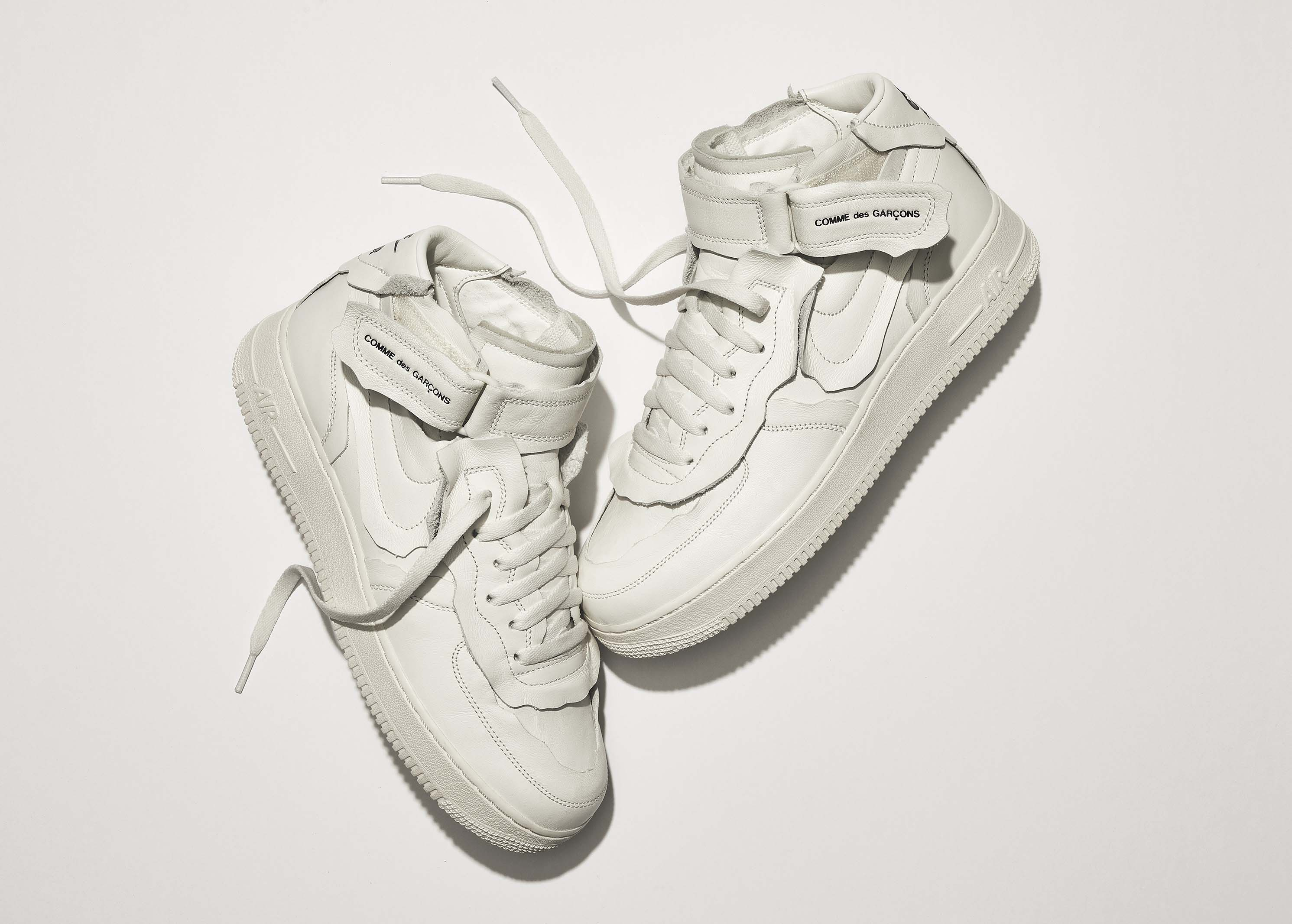 Nike x COMME des GAR??ONS Air Force 1 Mid?????? Nike ??????????????????????????????