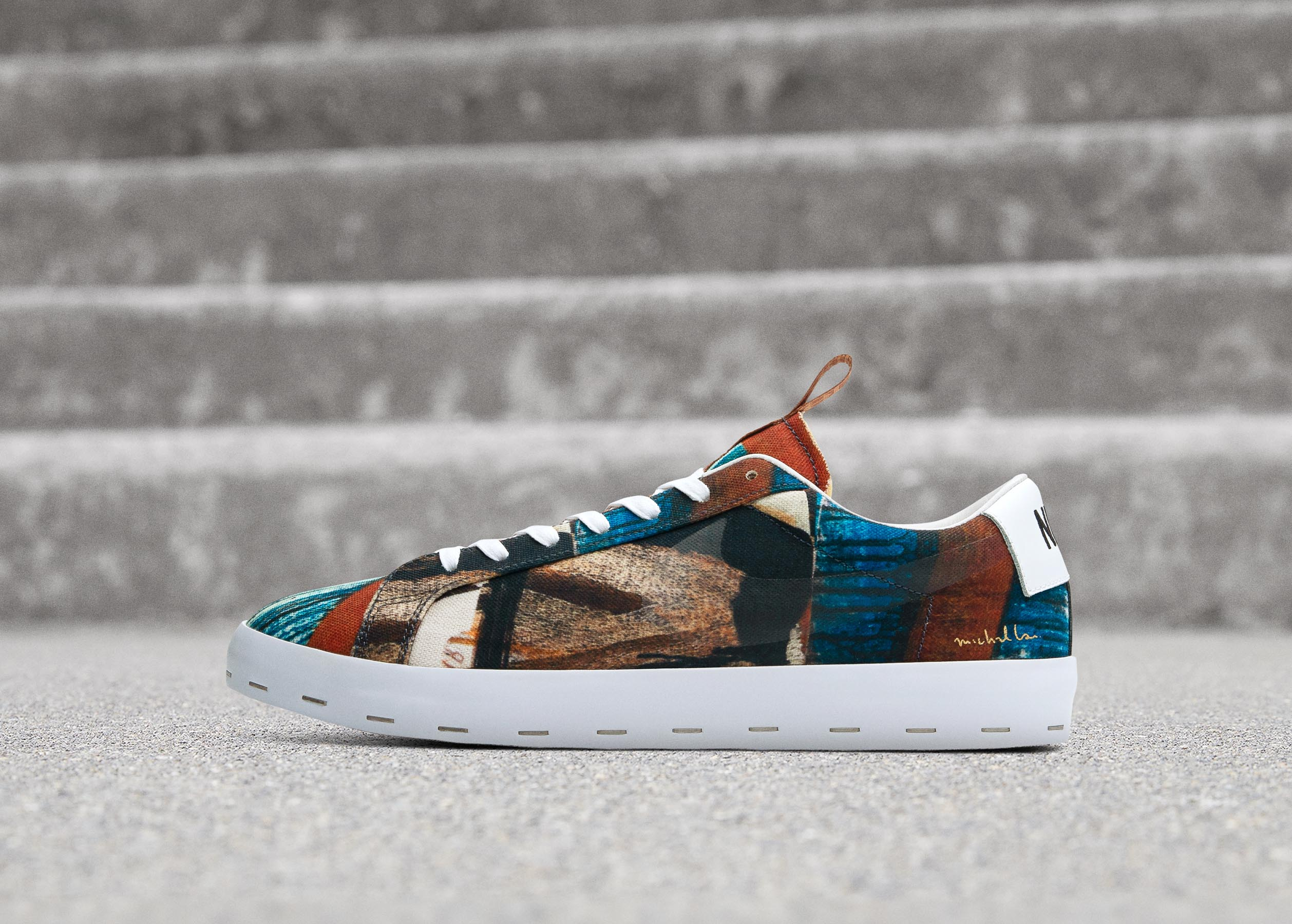 "球鞋與藝術的碰撞 — Nike SB Blazer Low ""Salvator Michael"""