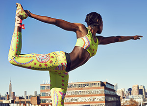 Nike Tight of the Moment-Sparkling Sunburst